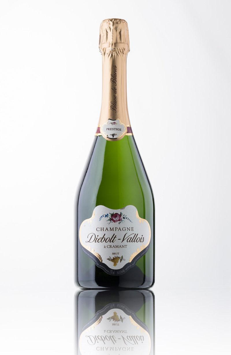 Champagner blanc de blanc Prestige